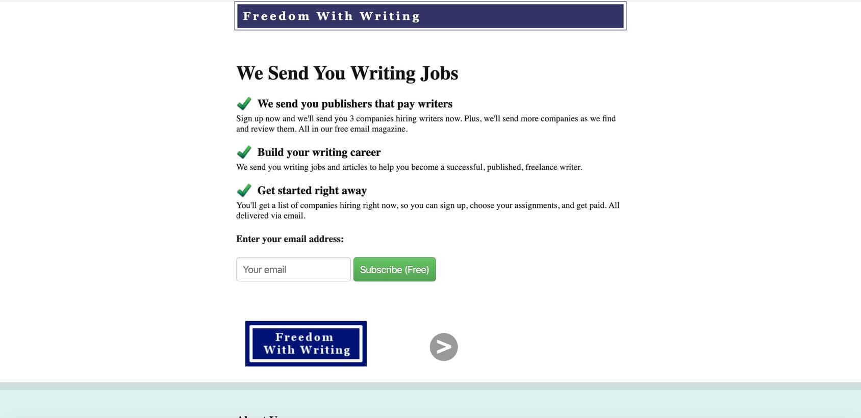 freedomwithwriting propriété
