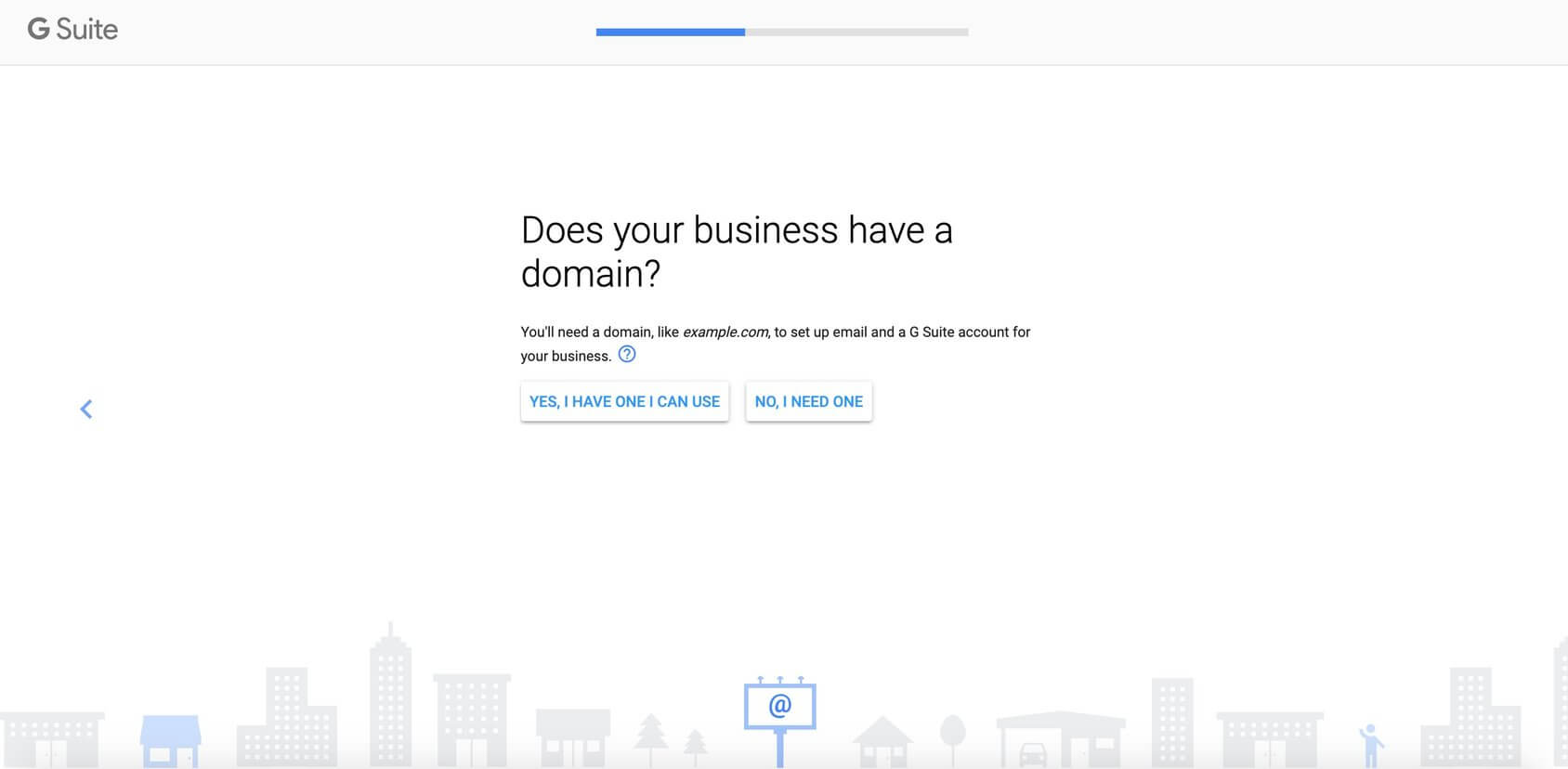 gsuite domain step