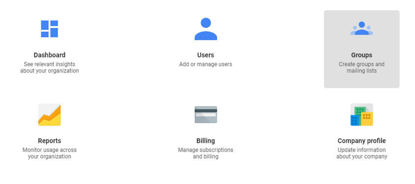 gsuite add group