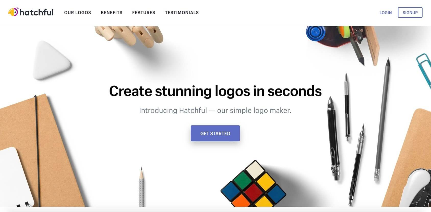 Hatchful by Shopify homepage