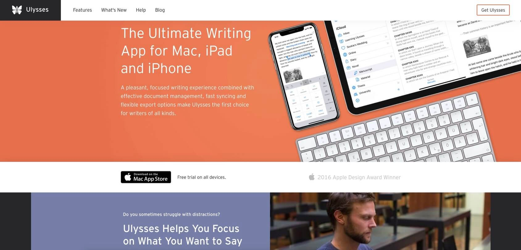 Ulysses homepage