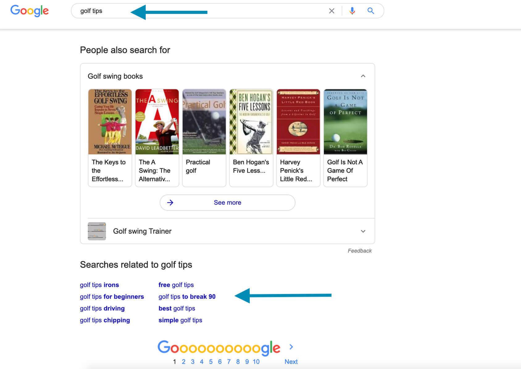 niche google search