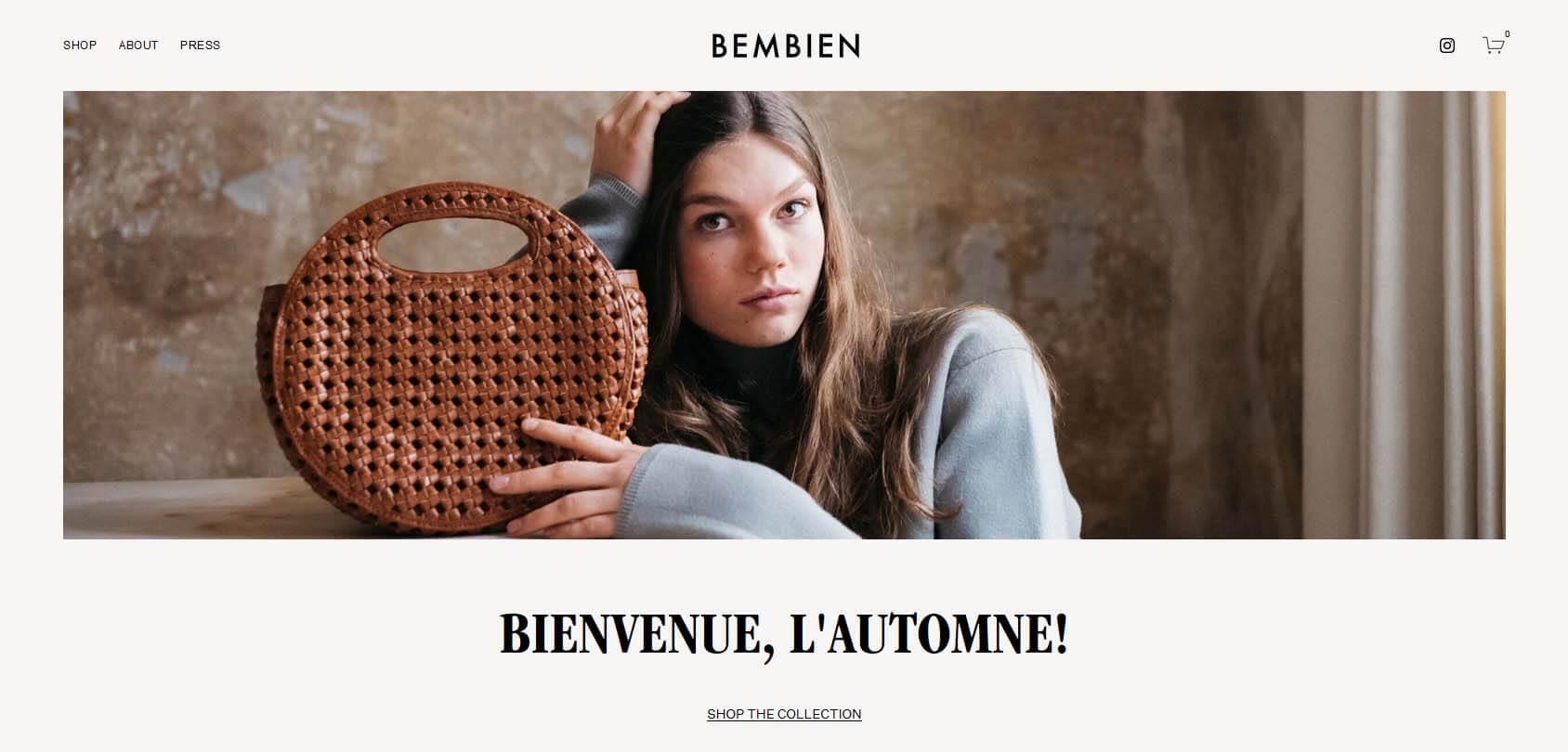 Bembien Homepage