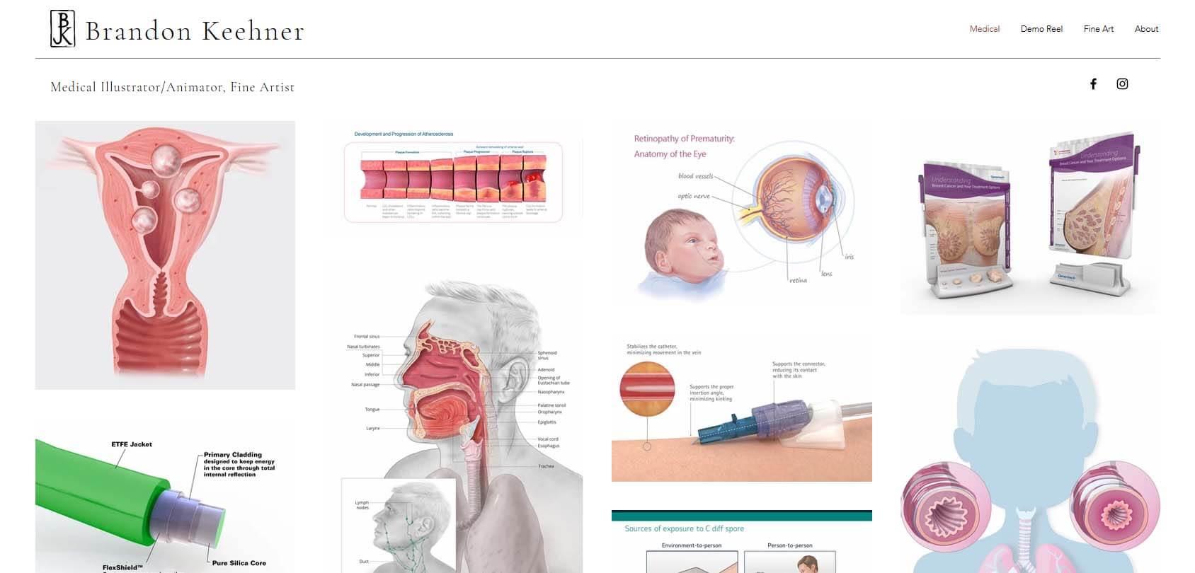 Brandon Keehner Homepage