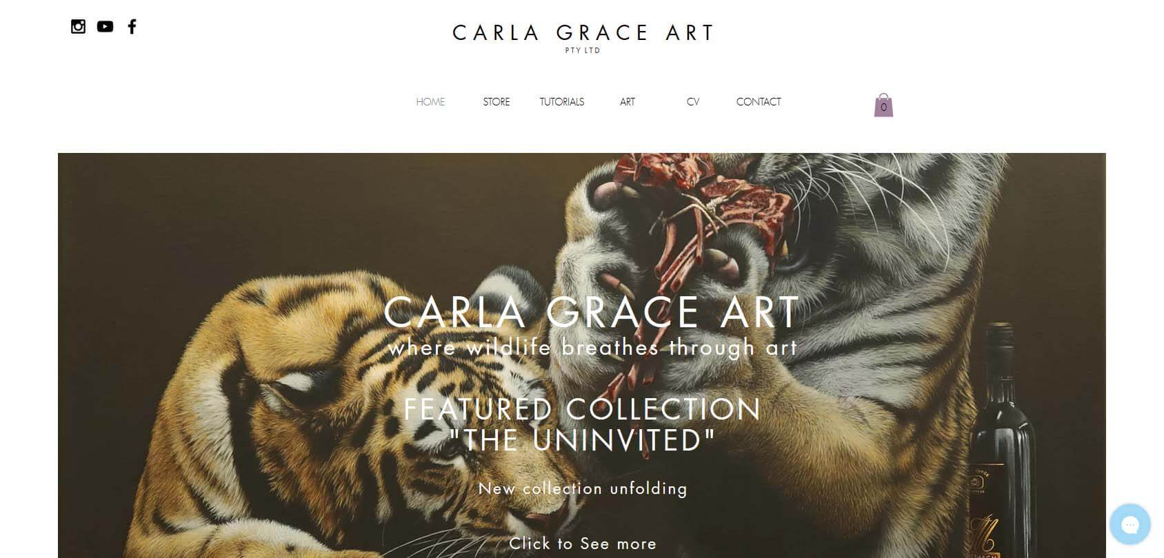 Carla Grace Art Homepage