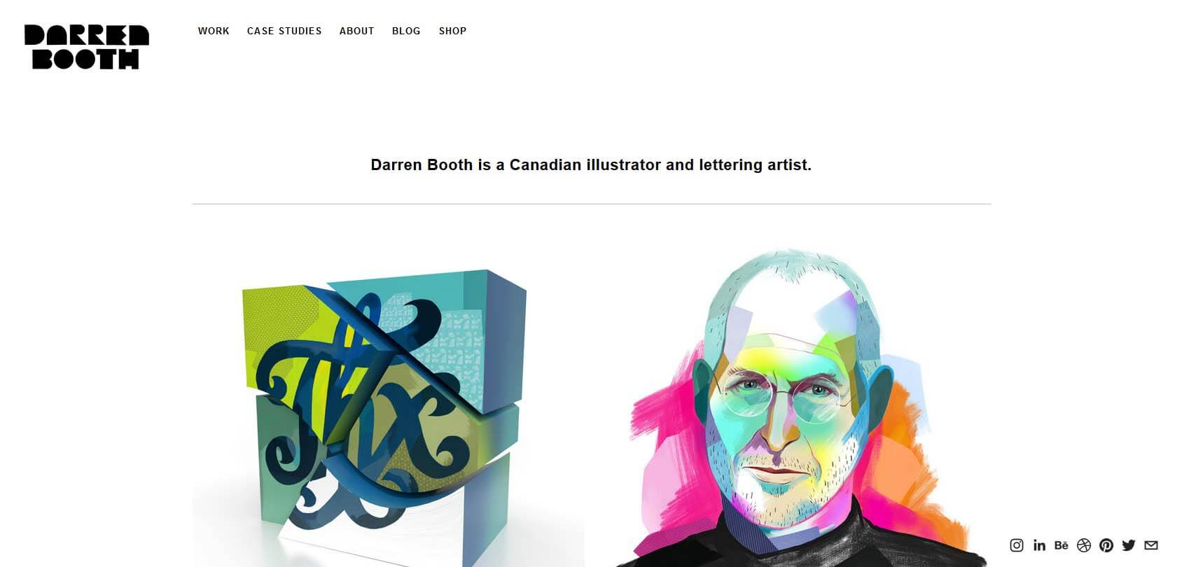 Darren Booth Homepage