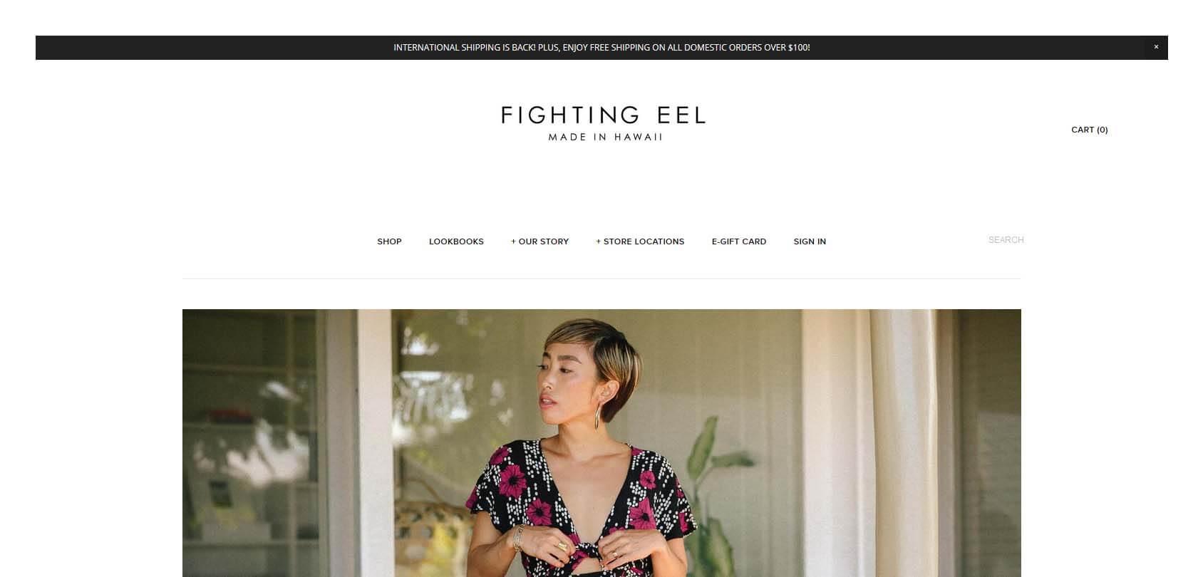 Fighting Eel Homepage