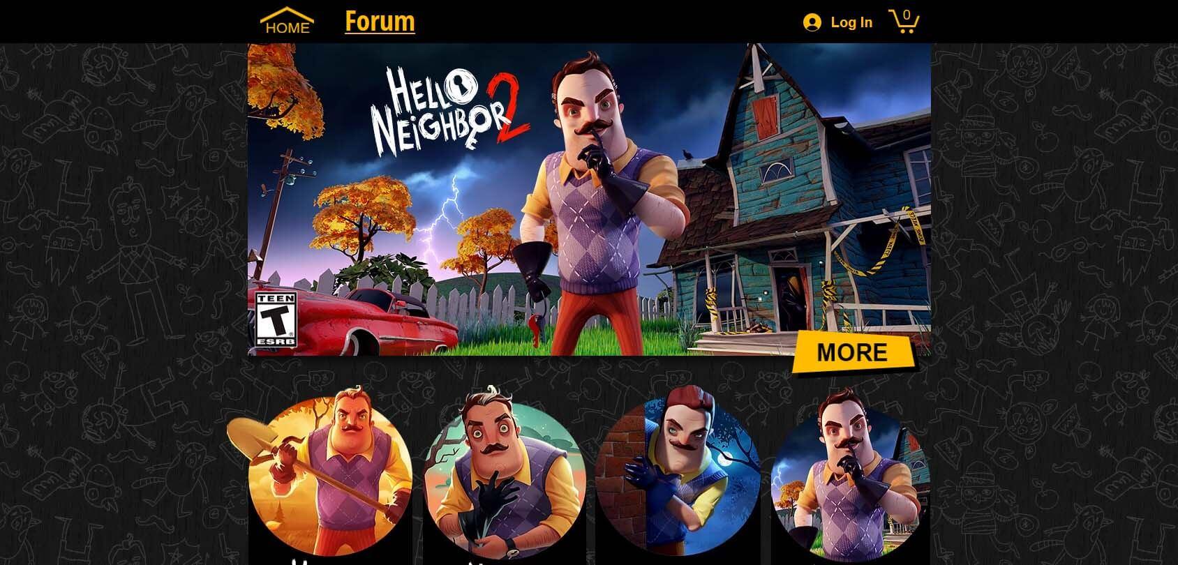 Hello Neighbor Homepage