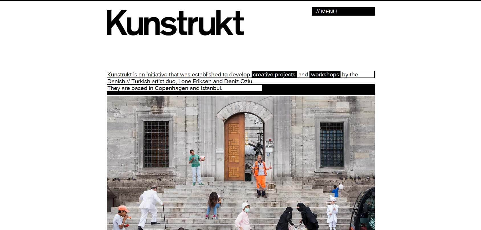 Kunstrukt Homepage