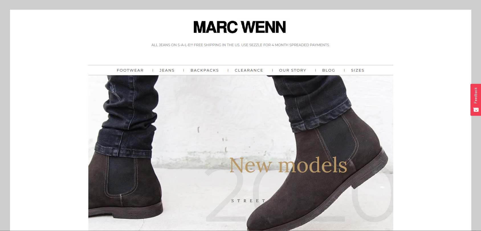 Marc Wenn homepage
