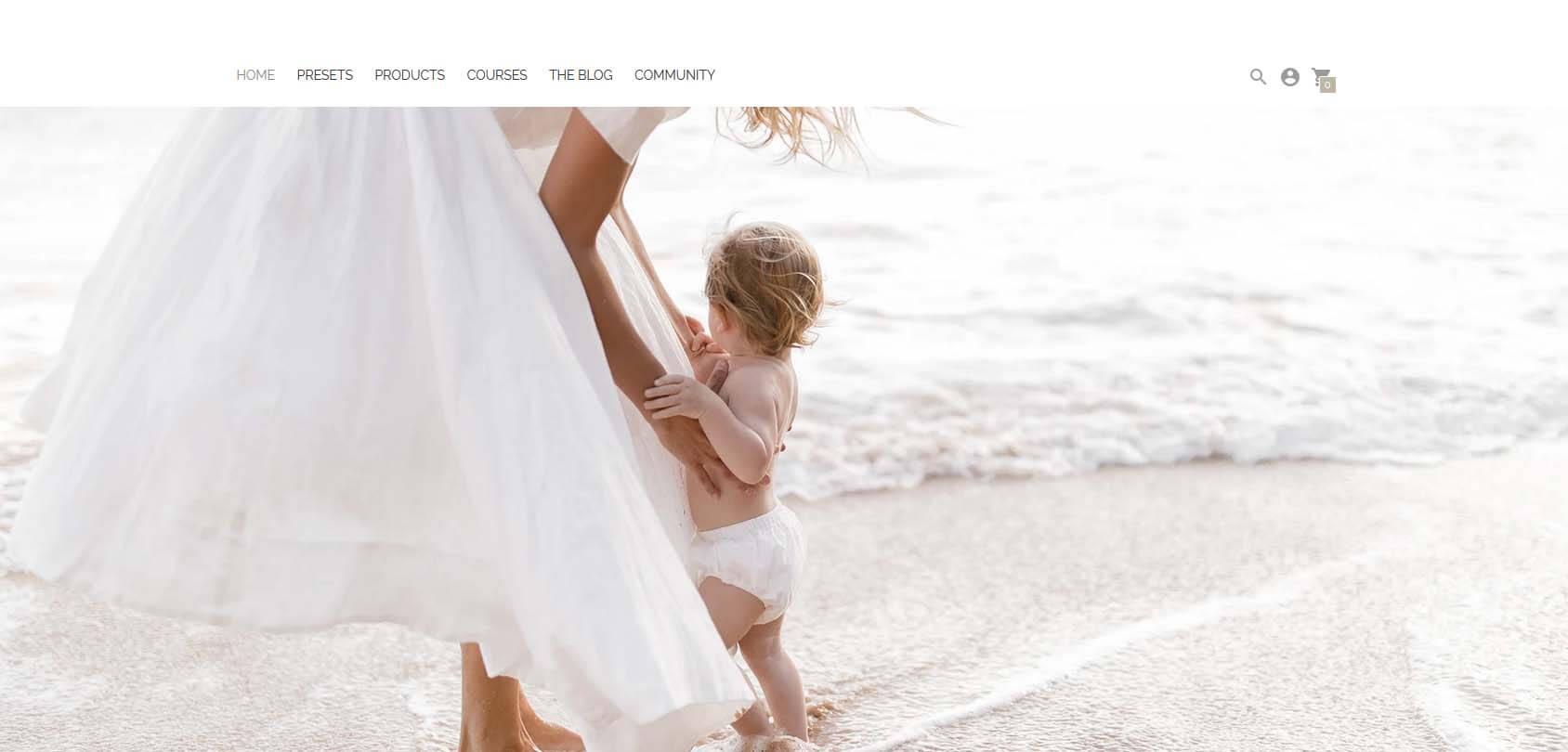 Modern Market homepage