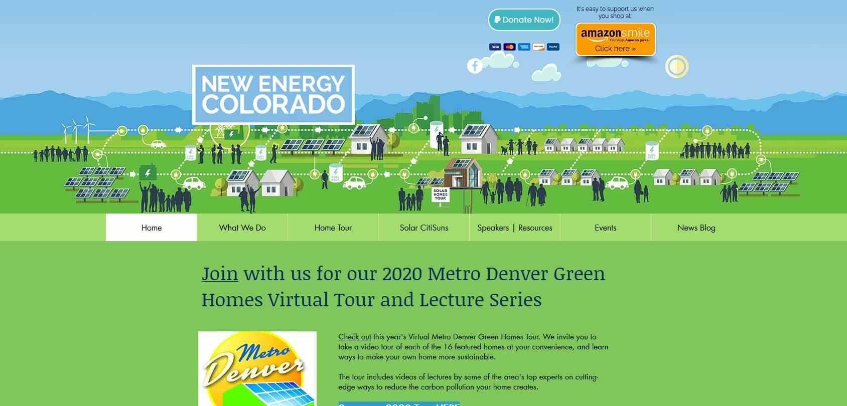 New Energy Colorado Homepage