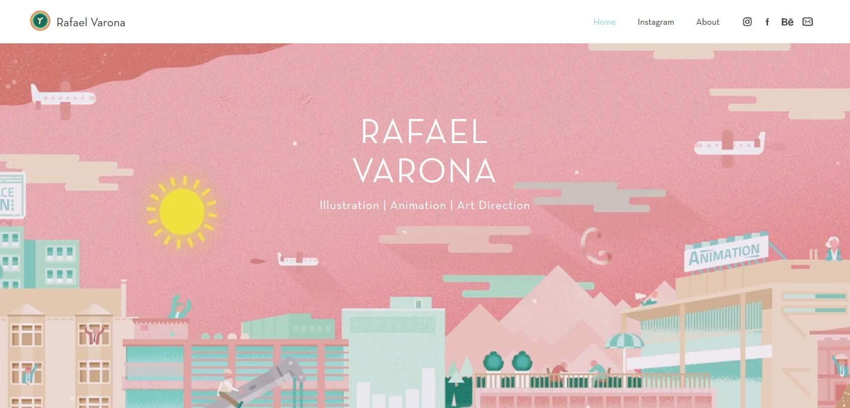 Rafael Varona Homepage