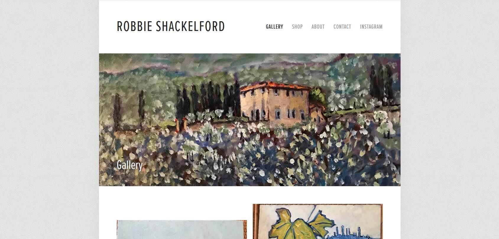 Robbie Shackleford Homepage