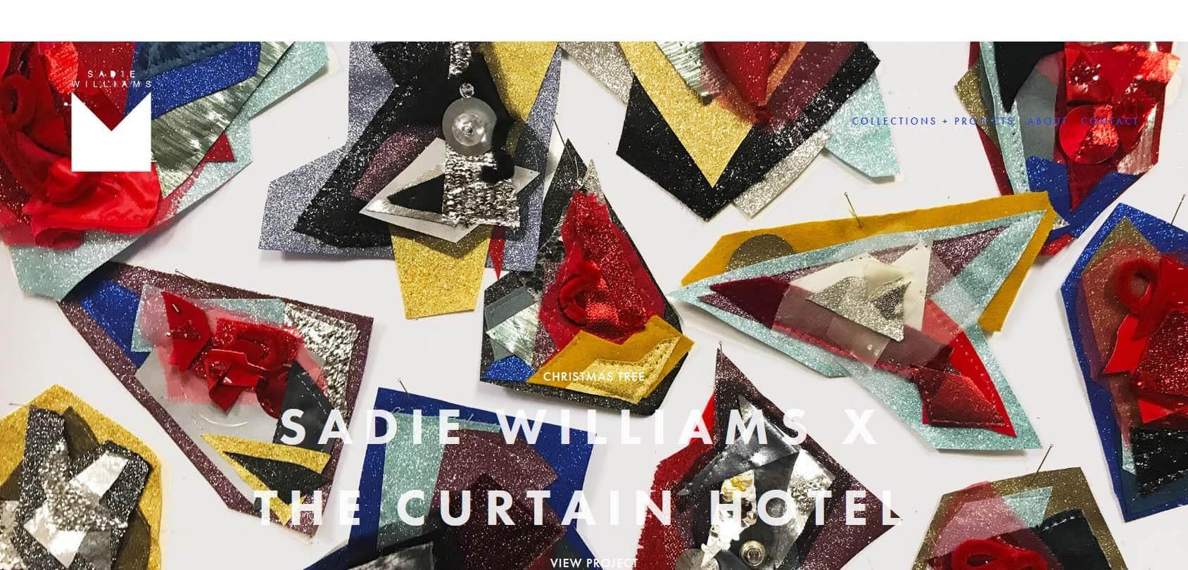 Sadie Williams Homepage
