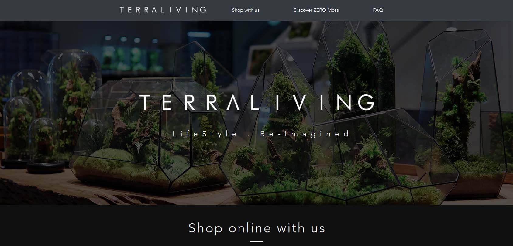 TerraLiving Homepage