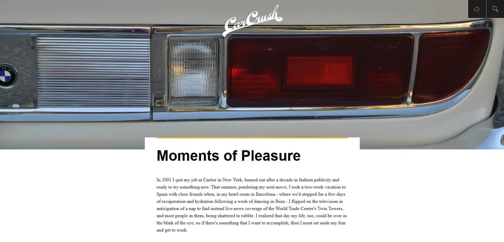The Car Crush Homepage