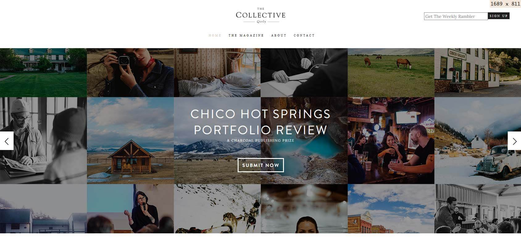 The Collective Quarterly Homepage