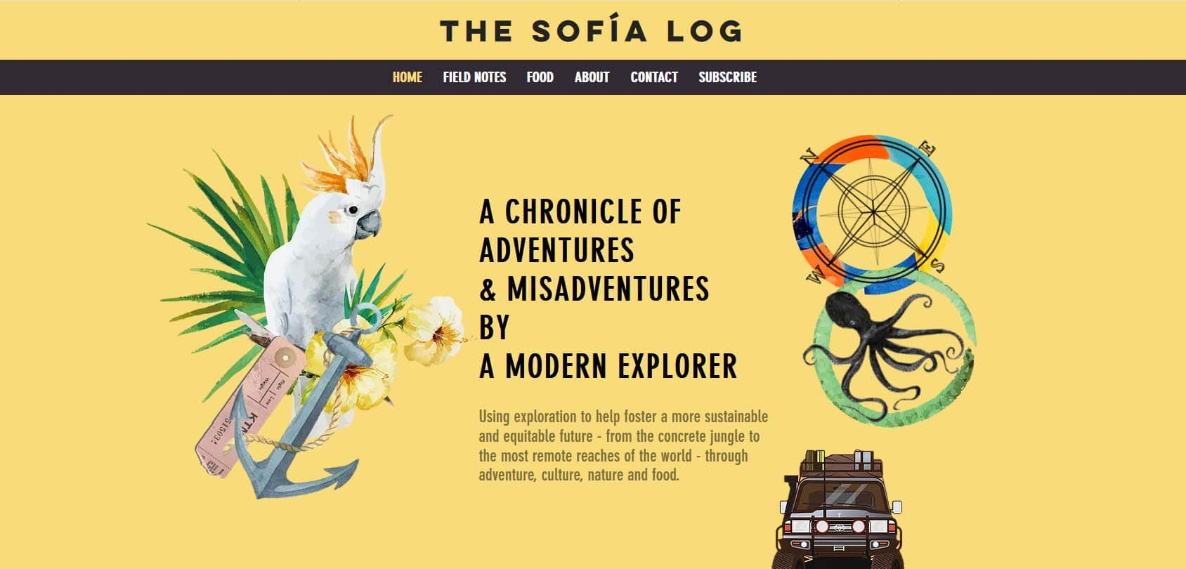 The Sofia Log Homepage