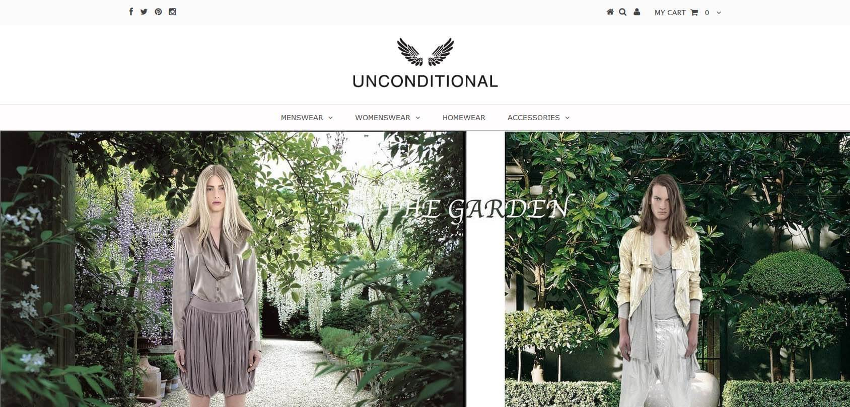 Unconditional homepage