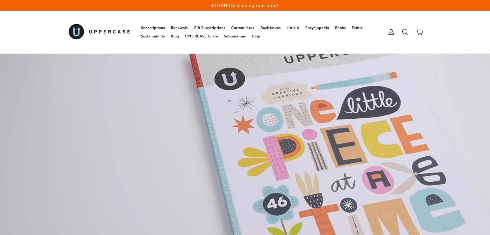 Uppercase Homepage