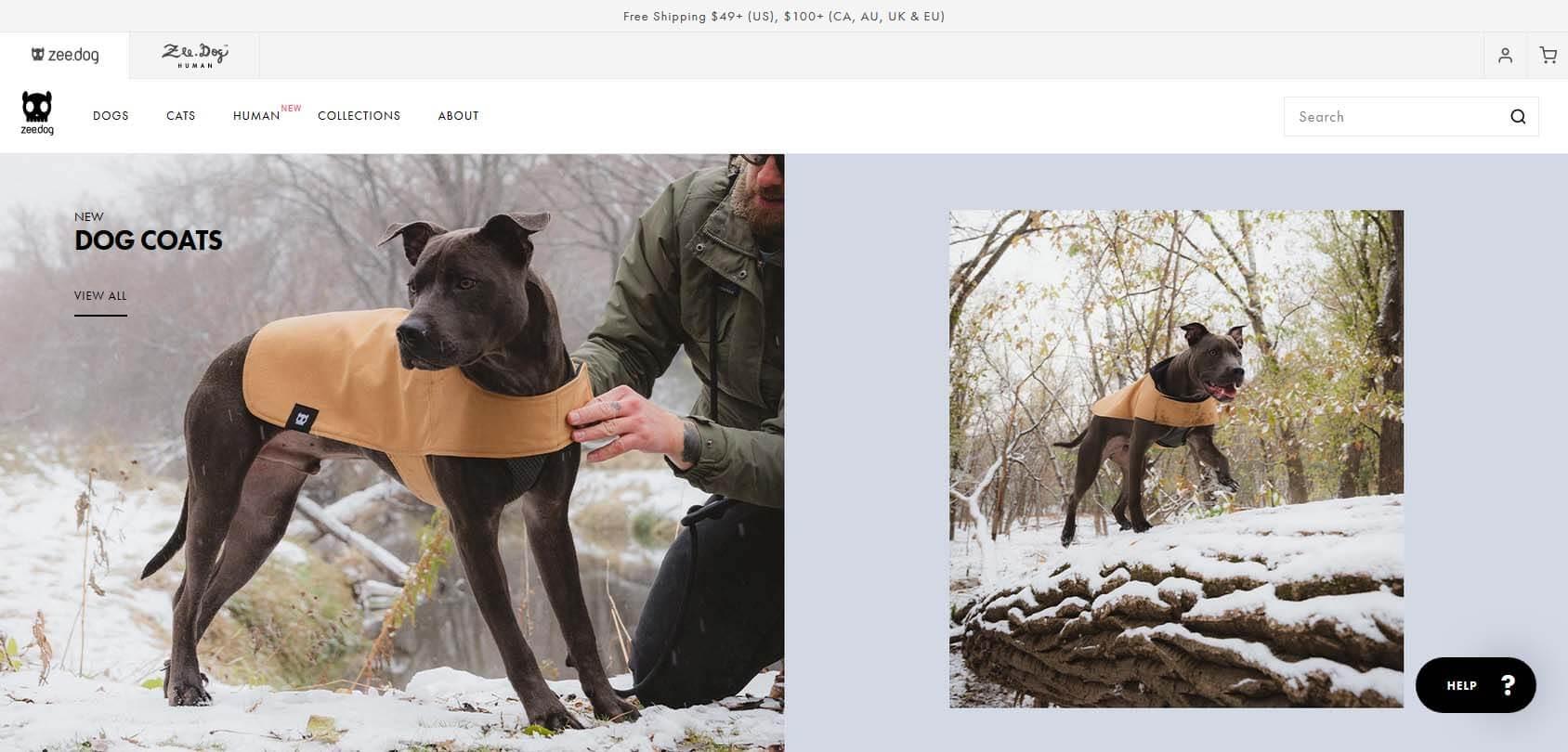 Zee.Dog homepage