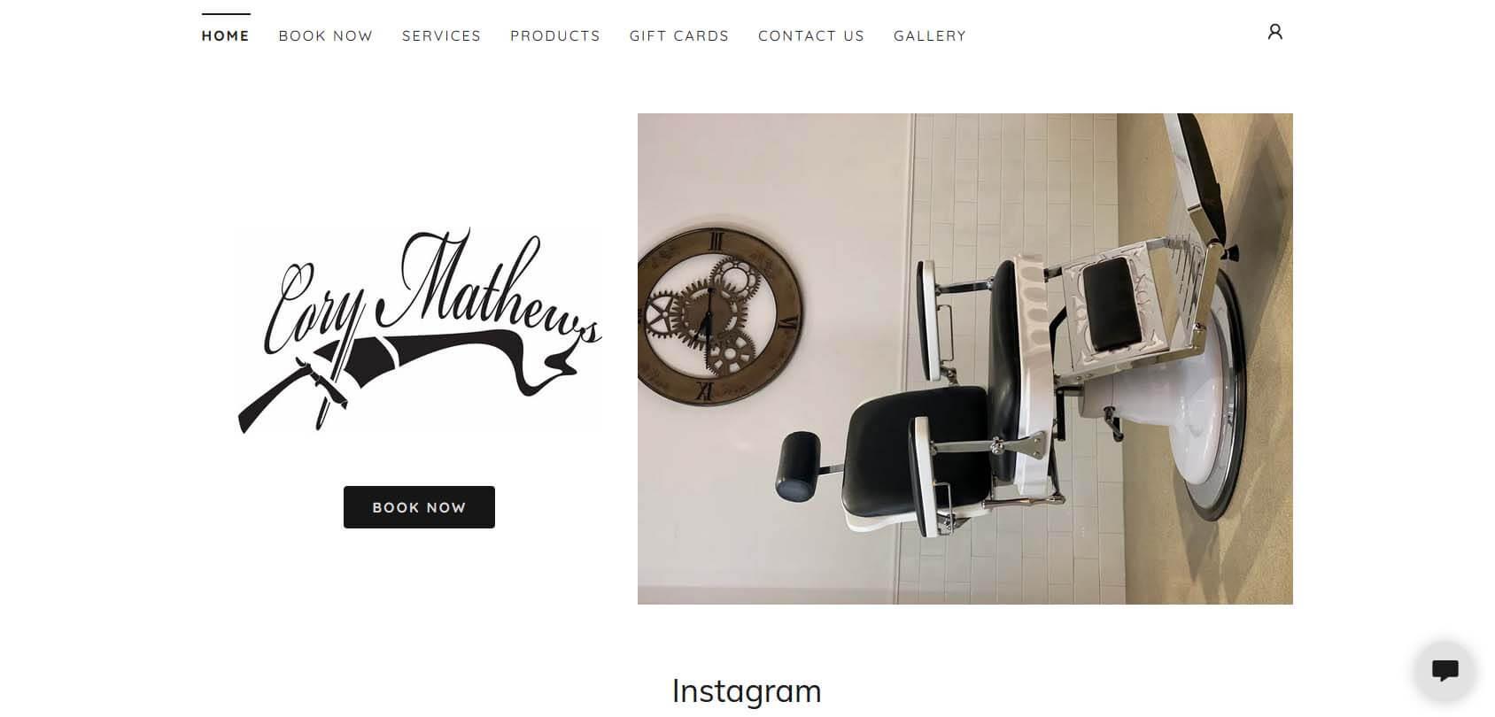 Cory Mathews Men's Grooming Homepage