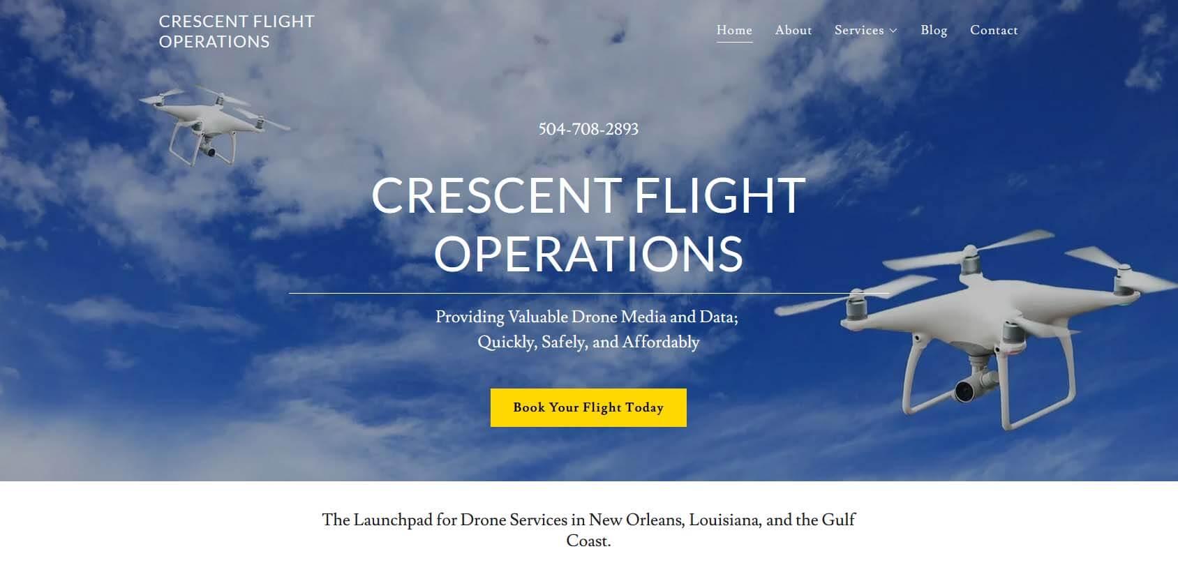 Crescent Flight Operations Homepage