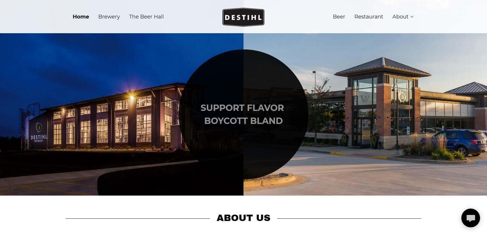 Destihl Homepage