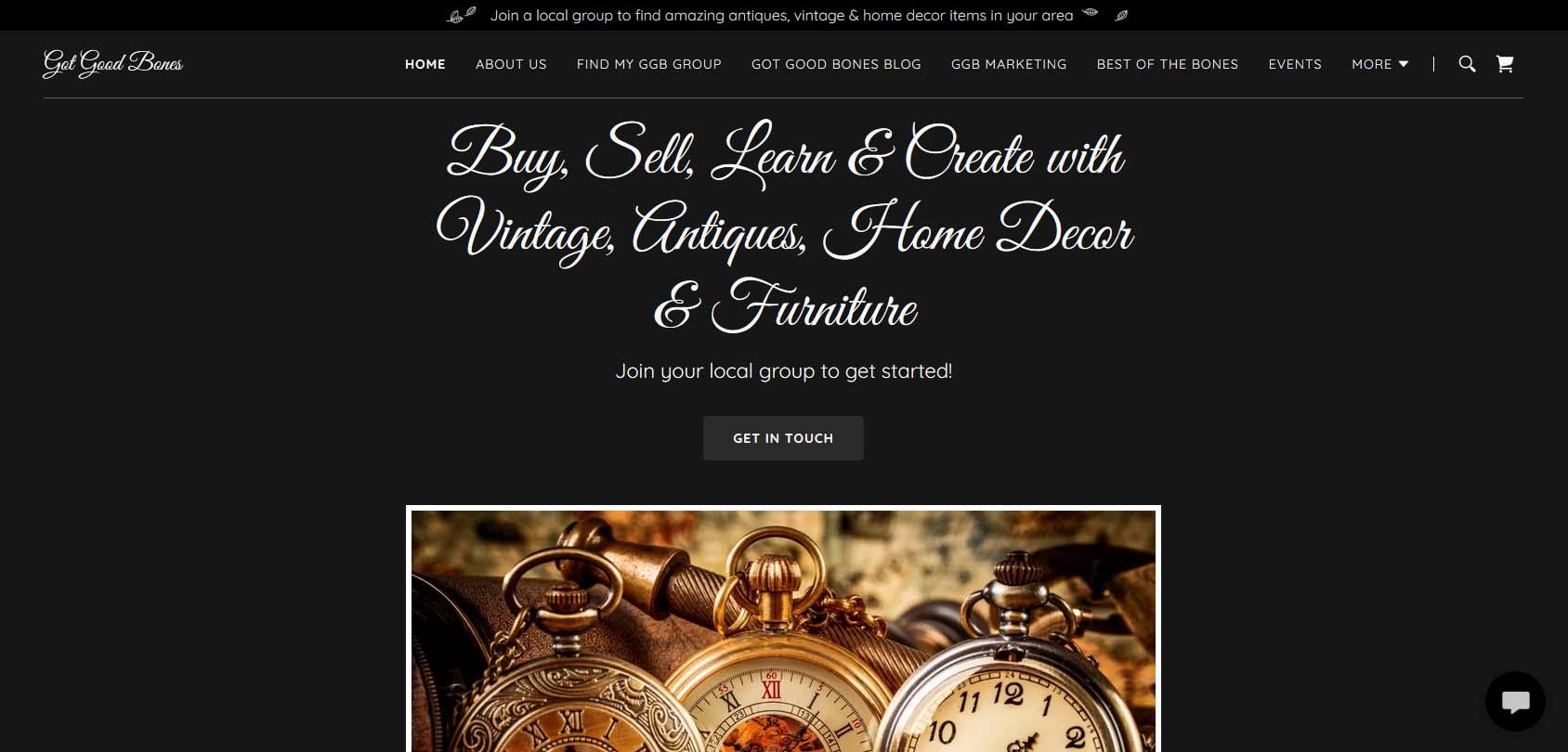 Got Good Bones Homepage