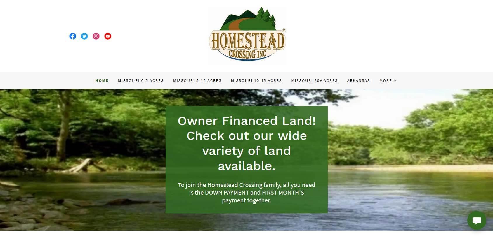 Homestead Crossing Inc Homepage