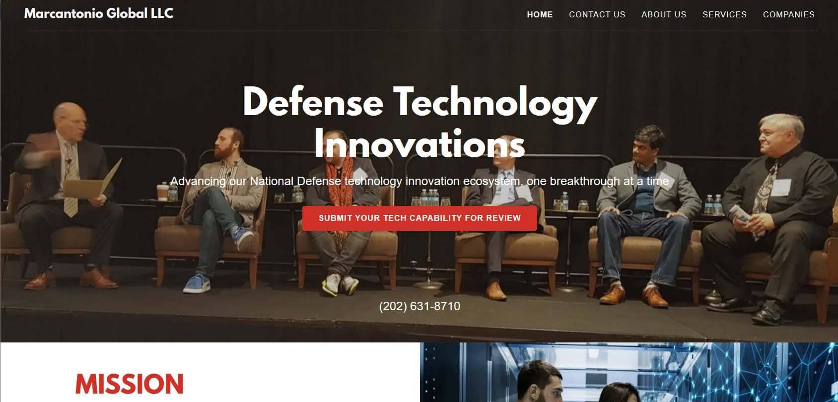 Marcantonio Global LLC Homepage