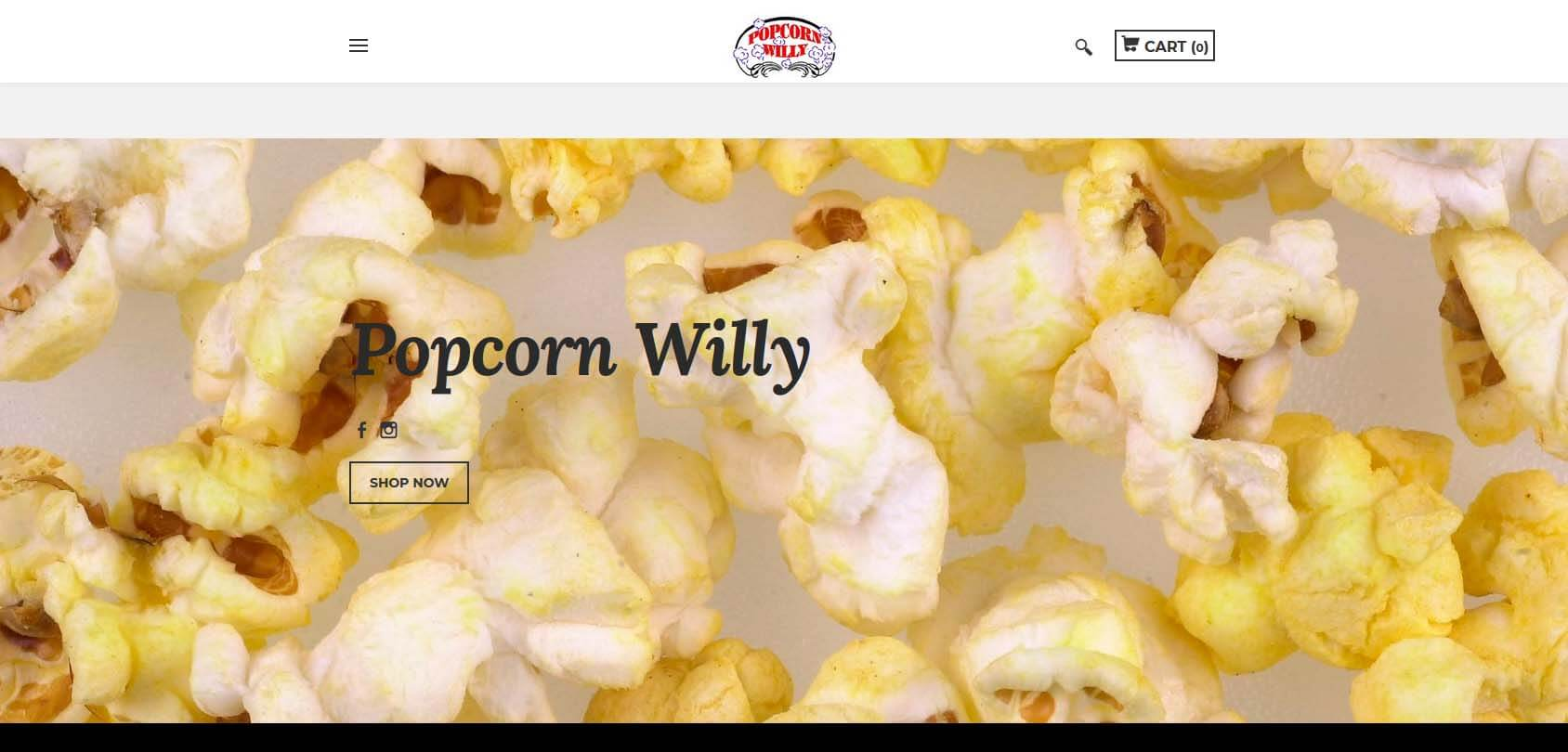 Popcorn Willy Homepage