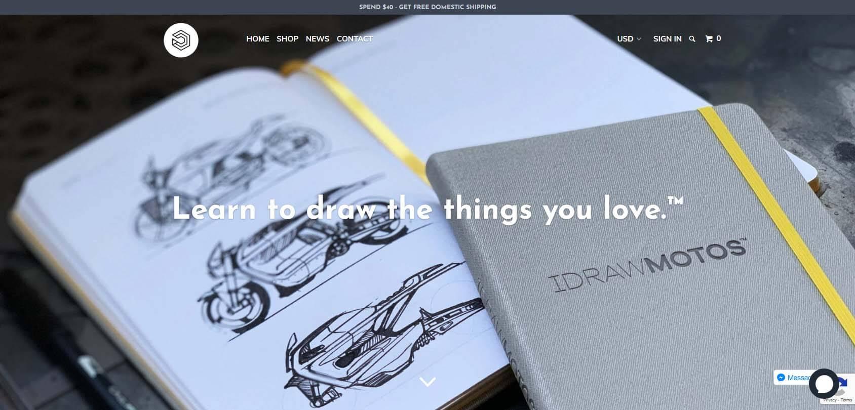 IDRAW homepage