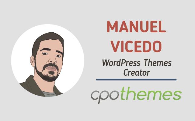 Manuel Vicedo Interview
