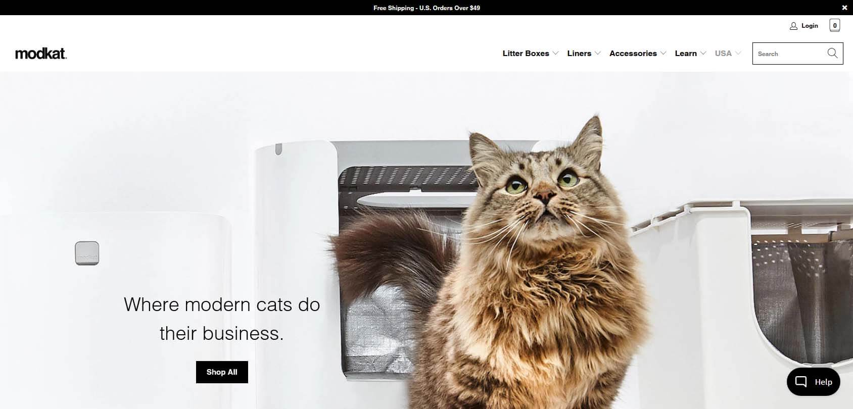 Modko homepage