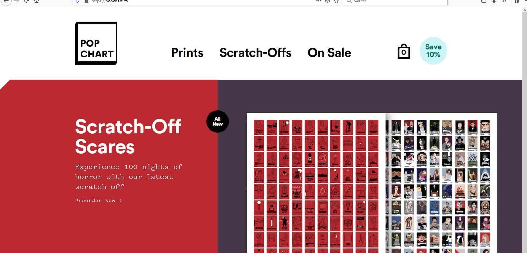 Pop Chart Lab homepage