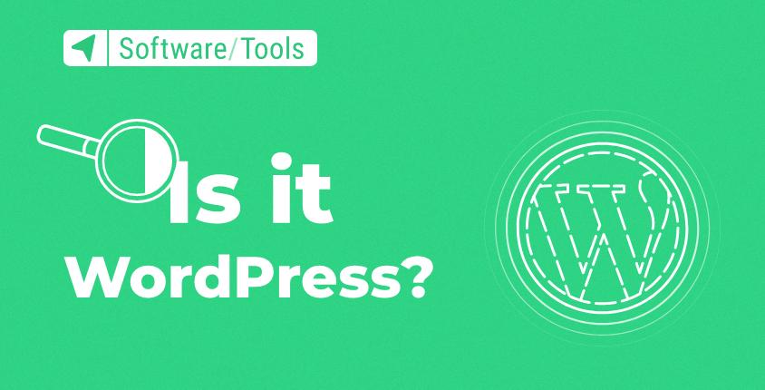 Is it WordPress? – Free Online Check Tool
