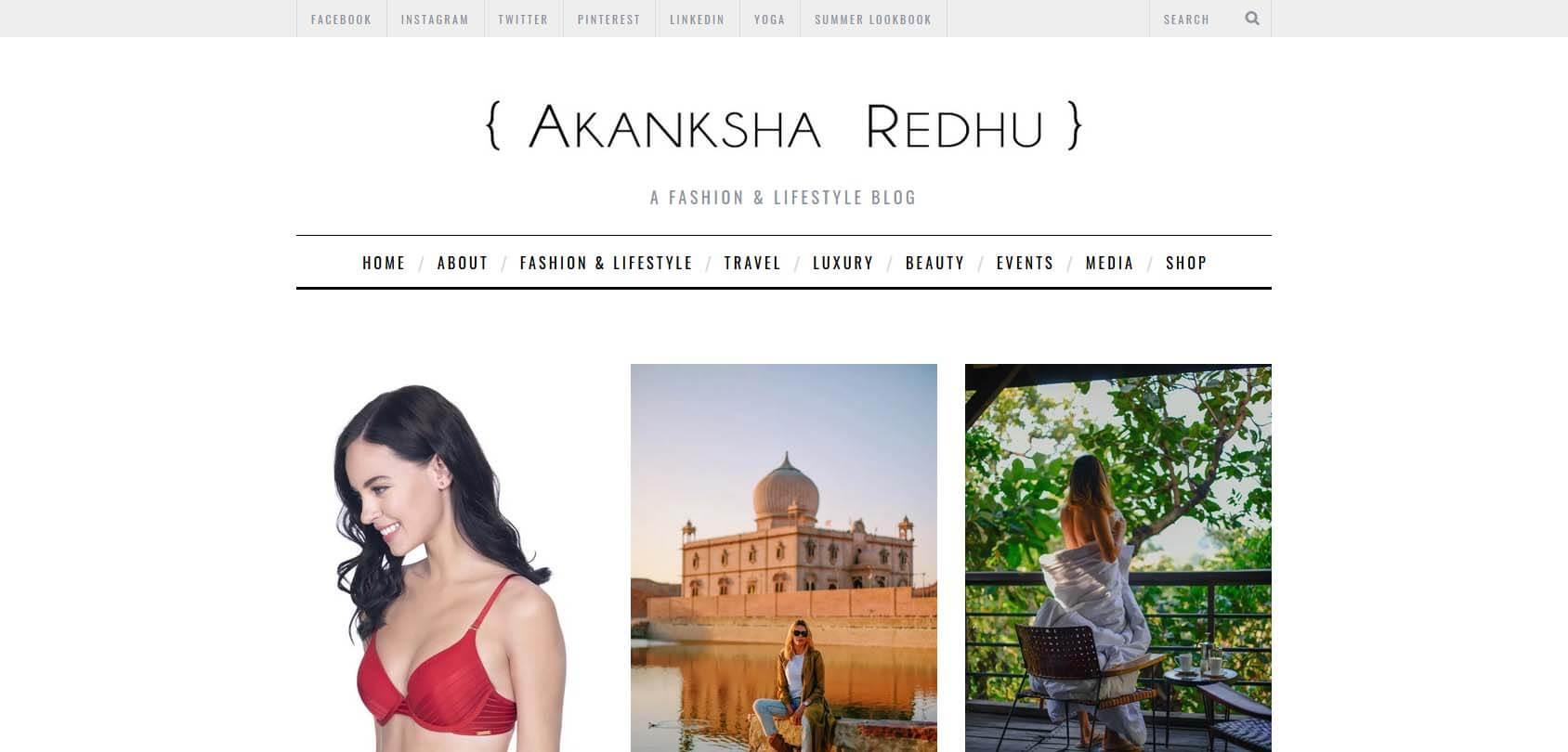 Akanksha Redhu Homepage