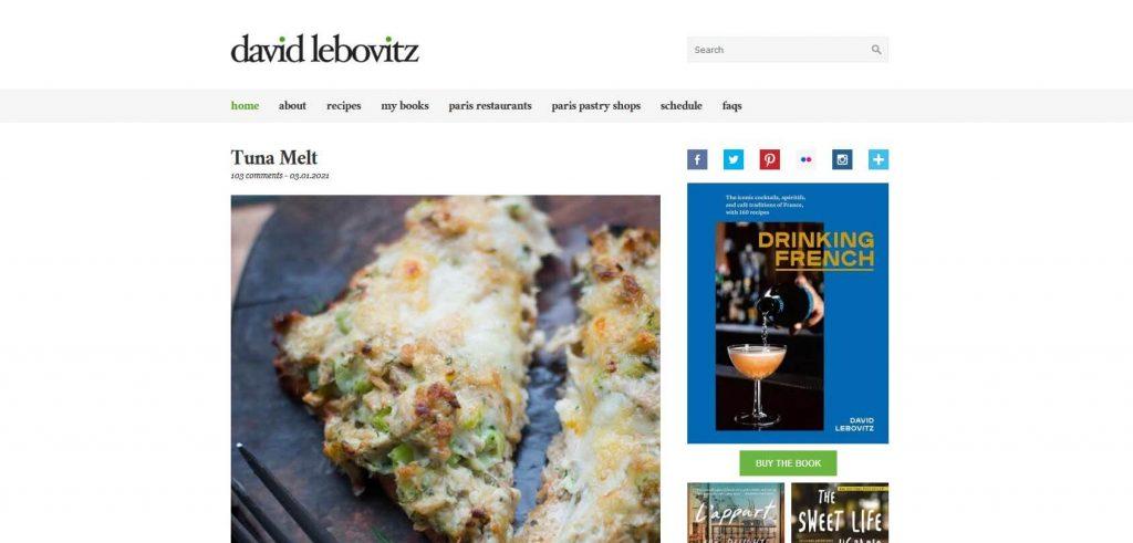 David Lebovitz Homepage