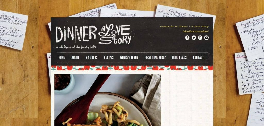 Dinner A Love Story Homepage