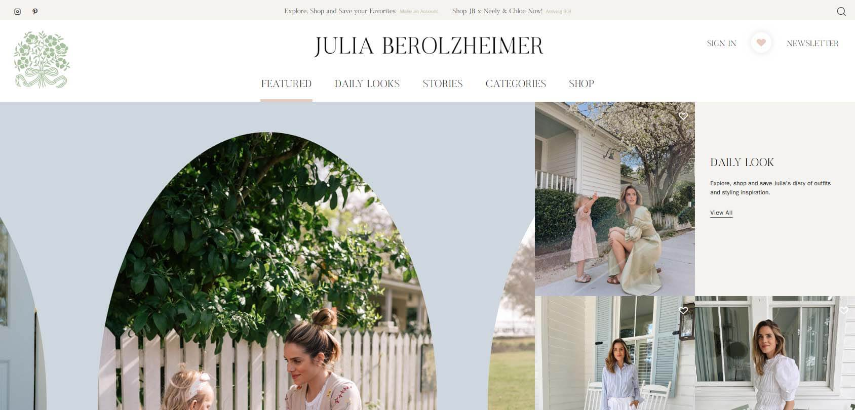 Julia Berolzheimer Homepage