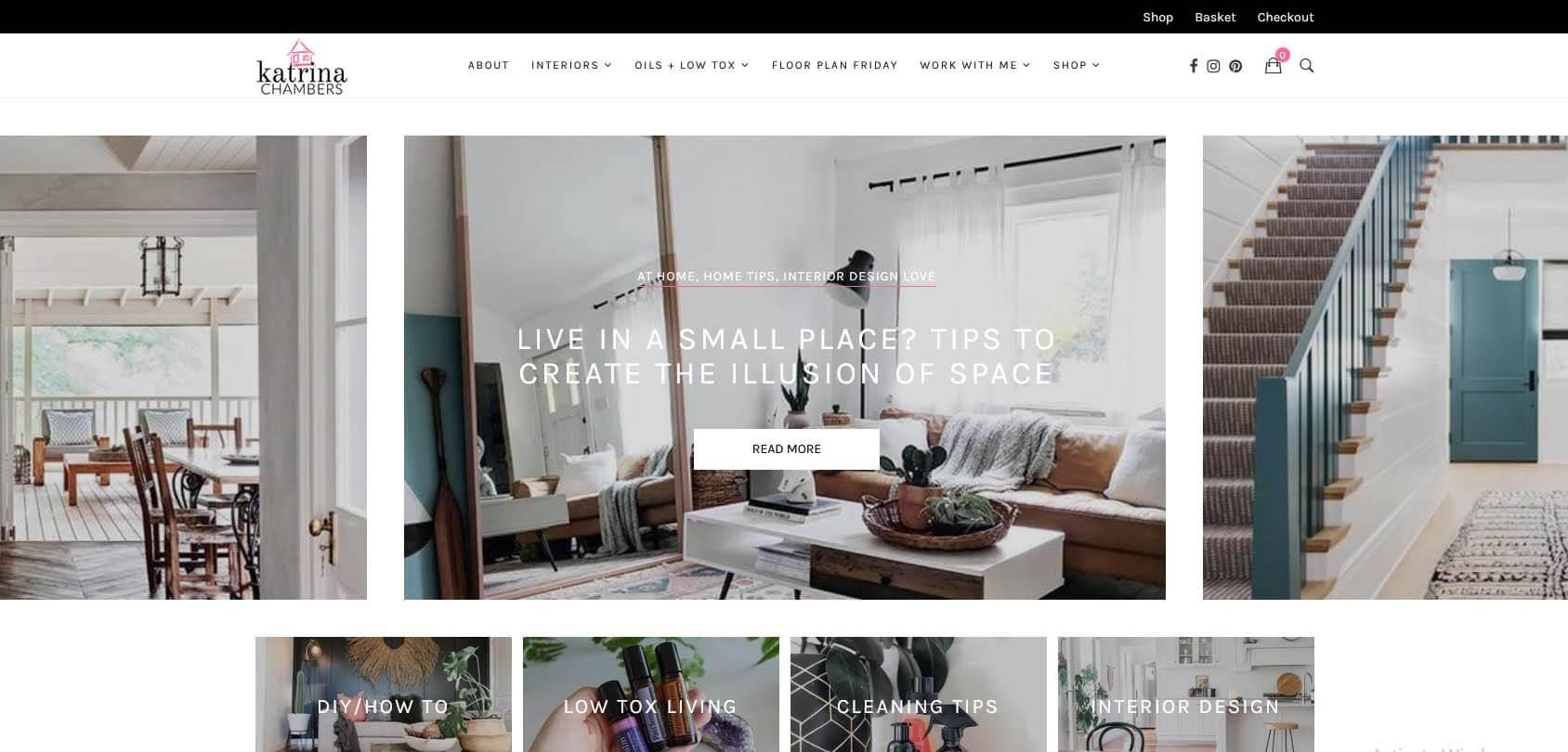 Katrina Chambers Homepage