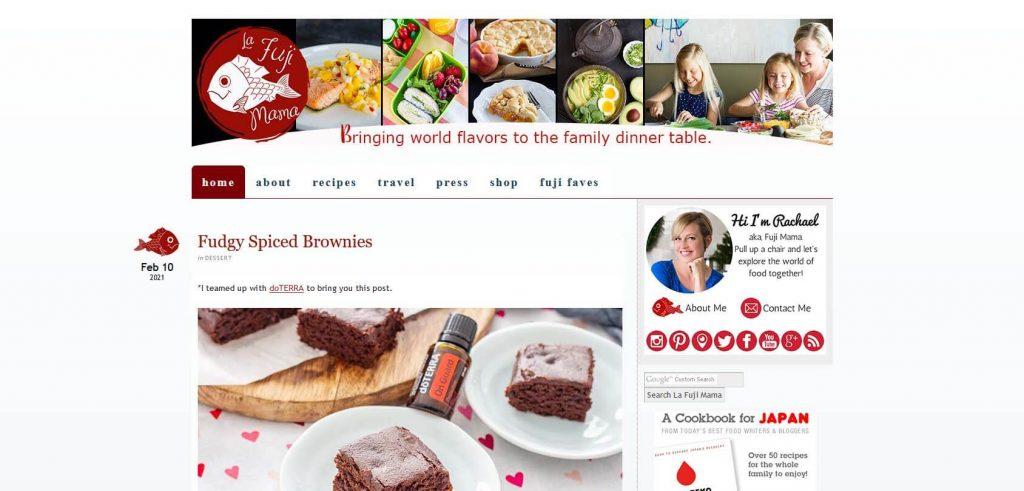 La Fuji Mama Homepage