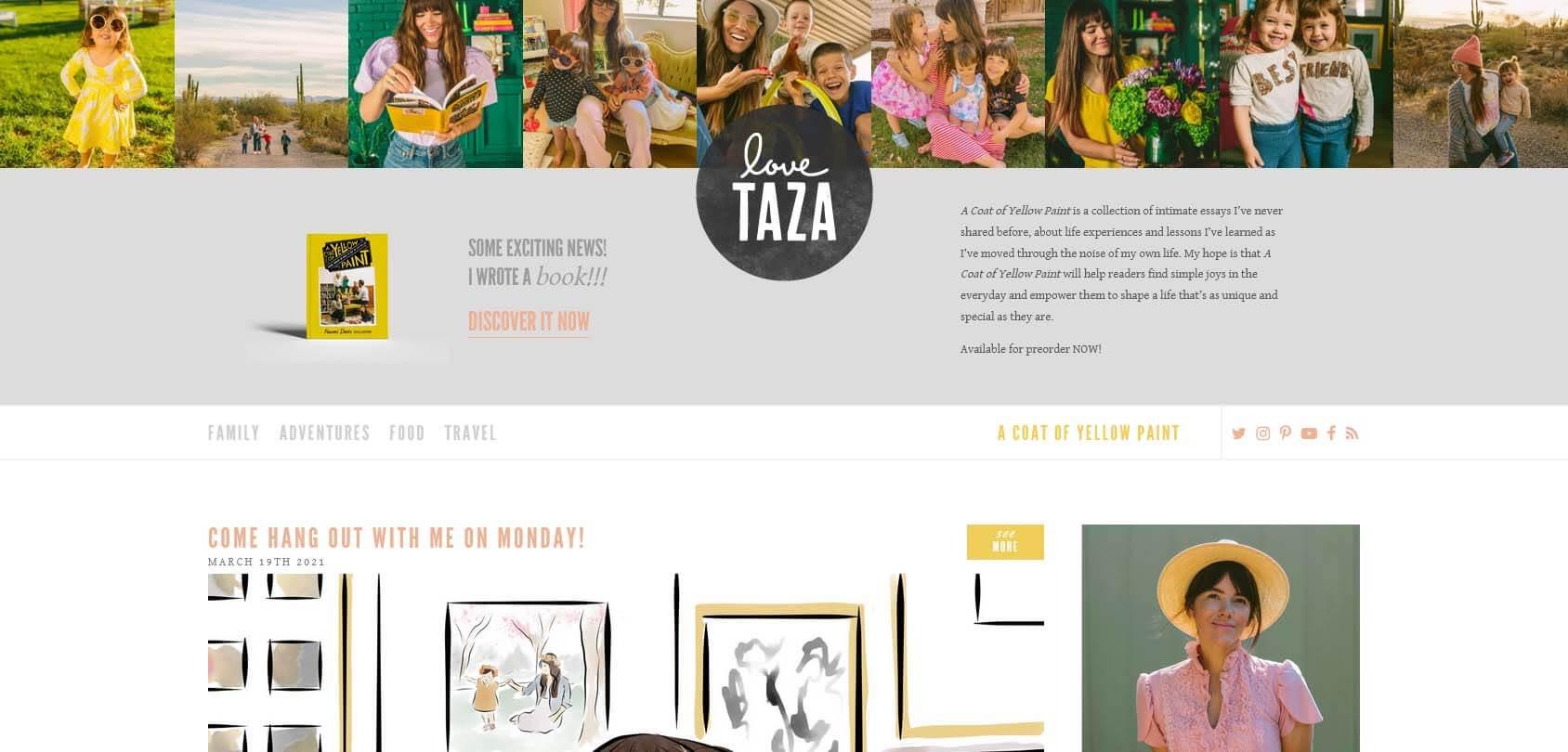 LoveTaza Homepage