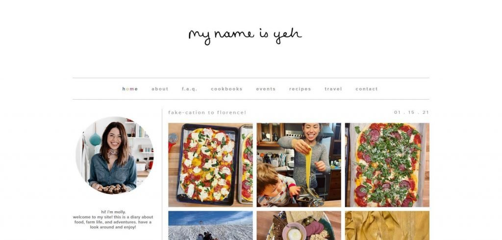My Name is Yeh Homepage