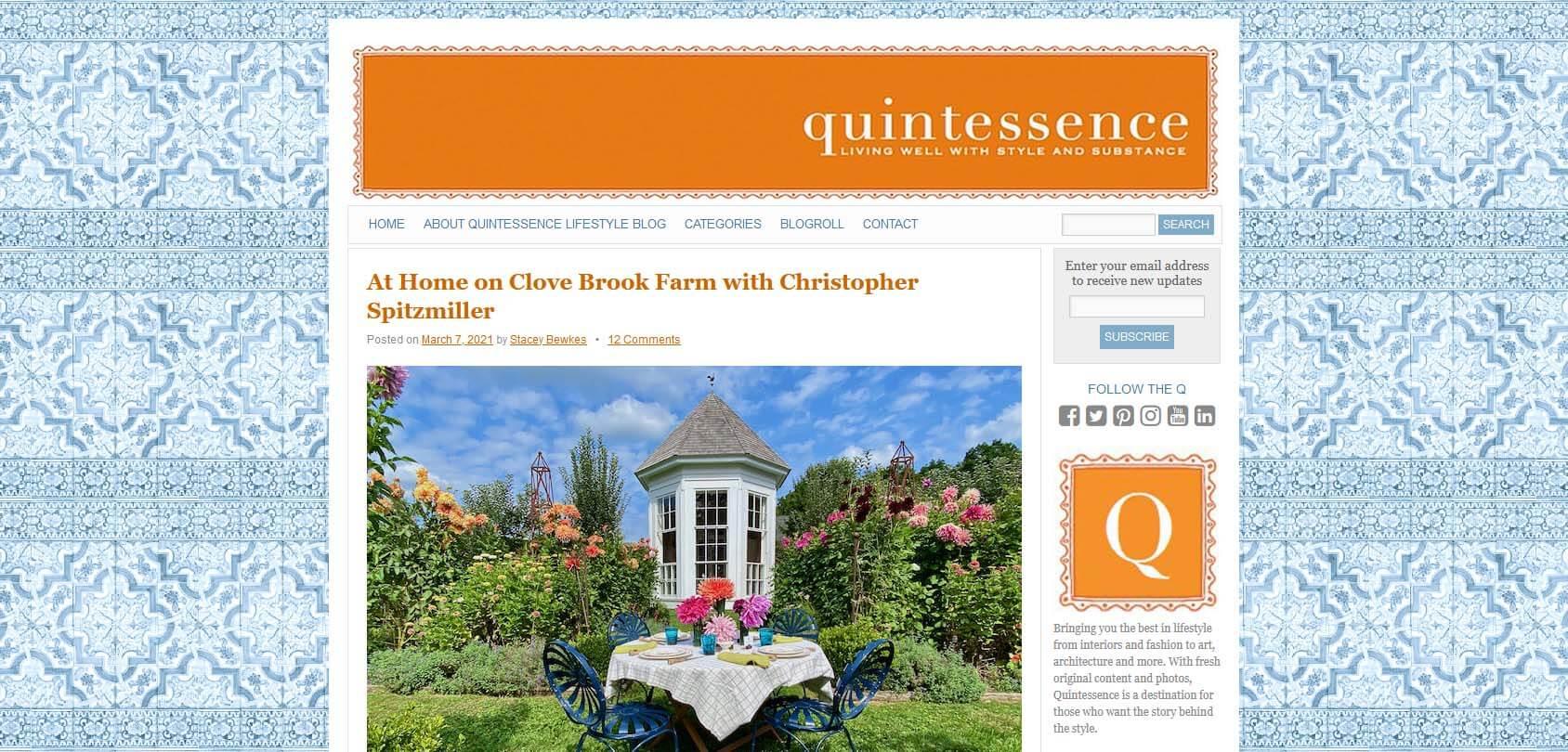 Quintessence Homepage