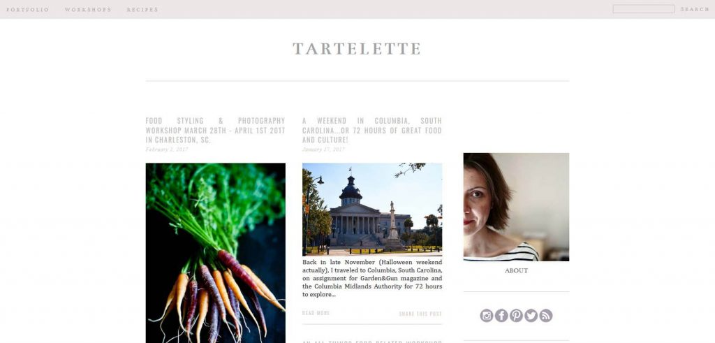 Tartelette Homepage