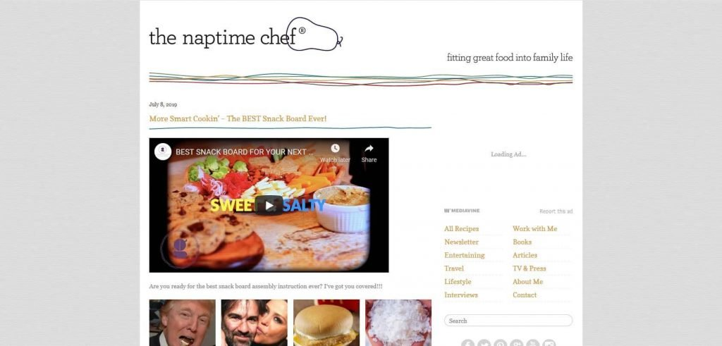 The Naptime Chef Homepage