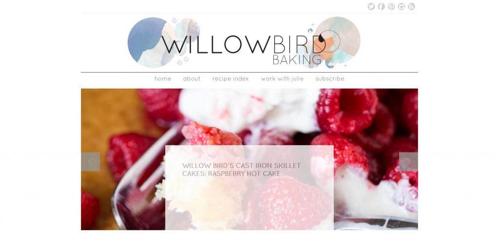 Willow Bird Baking Homepage